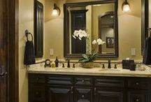 Bathroom Remodel Idea's / Thinks I like but Justin probably won't let me do / by Erin Estey