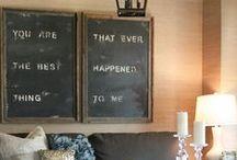 Home Sweet Home: Wall Art / by Heather Smith Benac