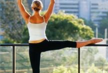 Yoga and Barre Fitness / Yoga and barre exercises and positions to tone and sculpt