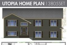Split Level Home Plans / Kent offers a wide variety of home plans. By choosing our home plans you get confidence in knowing they are from an Atlantic Canadian company with each design suited specifically to our climate. A Kent exclusive, these home plans can only be purchased online.