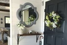 A Splash of Style - Entryway