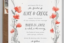 Wedding & Other Invites  / by Julianna Swaney