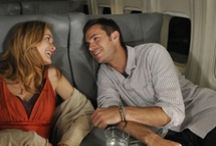 "Overnight / 2008: (Original Title: Fly Overs) Romantic Comedy about two neurotic strangers (James D'Arcy / Rachel Blanchard) who meet amidst an odd group of passengers on a red-eye flight from LA to New York on Valentine's Day. Filmed (26 Aug - 19 Sept 2008) at LAX & Santa Clarita, California.  Film Festivals: Hollywood & Ojai (2010), Palm Beach (2012). Won ""Best Feature Film"" at Iowa Independent Film Festival (2010). In  Cinemas: 26 April 2012 (USA) / DVD: Sept 2012  / TV premiere: 21 Jan 2013 (Hungary)"