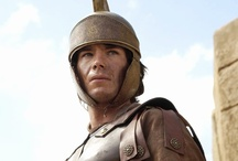 Ancient Rome:  Revolution / 2006: Ancient Rome: The Rise & Fall of an Empire: Revolution - Ep 3 of a 6-part BBC Historical drama covering six key figures from Caesar to Nero. Appalled by the mistreatment of the poor, Tiberius Gracchus (James D'Arcy), uses the power of the common people & as Tribune, to limit land owned by aristocrats, bypassing the Senate. Filmed (March - May 2006) at Empire Studios in Tunisia. Won the 2007 RTS Award for Best Costume. Aired on: BBC1 London, 5 October 2006. Also released in Germany & Japan.