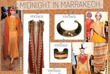 MIDNIGHT IN MARRAKECH / by juleVintage / theSTYLEARMORY