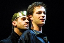 Edward II / 2001: A 1592 play by Christopher Marlowe performed at The Crucible Theatre in Sheffield from March 8 - 31, 2001.  James was nominated for the prestigious 2001 Ian Charleson Award for his portrayal of Piers Gaveston and won Third Place.