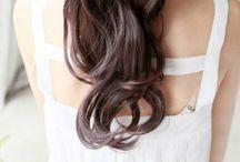 Hair art.
