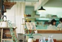 Cafe/Shop / I dream of owning a tea shop. These are my inspirations. / by Julianna Swaney