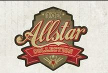 Allstar Collection / It's retro, masculine, filled with antique sporty designs and imagery. The All Star collection is perfect for that special athlete or sports fan in your life! See all products here: www.primamarketinginc.com