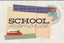 School Memories Collection / School Memories Collection featuring paper, flowers and TONS more!
