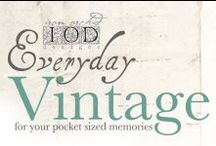 Everyday Vintage / Everyday Vintage Collection by IOD for Prima!