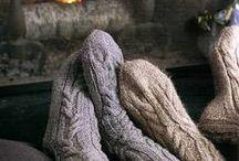 Knitting sox n mittens n scarves / by Marnie Loken