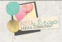Insta-Scrap By Leeza Gibbons / Instantly scrap your favorite social media memories with our new fun-filled, colorful line by Leeza Gibbons! Cutting-edge, easy-to-use accessories will make scrapbooking a snap! New 2014 release by Prima Marketing