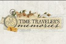 Time Traveler Collection / Step back in time to experience luxurious colors and heirloom images combined in our latest release, Time Traveler. Not limited to just traveling, this stunning collection includes a beautiful variety of antiqued papers and coordinating accents which will work wonderfully for any project with a rich, vintage essence. #new #timetraveler #midrelease #primamarketing