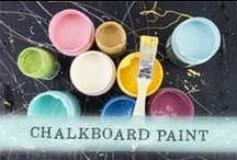 Chalkboard Paint by Prima / Projects using Prima's chalkboard paint