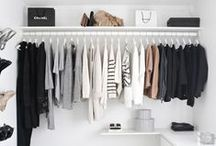 The Walk In / A girl can dream! #walkincloset #closet #organize / by South Moon Under