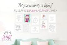 Gallery Wall Art - Creative Displays / A board to inspire creative displays for your home!