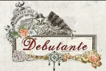 The Debutante Collection / A grand beauty, Debutante collection by Prima is sure to delight your vintage senses! With a touch of romance and elegance, each product in our new line is wonderfully detailed with gorgeous details. Come take a twirl around the room with us as we showcase Debutante!
