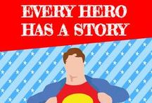 Every Hero Has a Story - 2015 Summer Reading Program / Children from pre-school age through the 6th grade are invited to visit library locations, keep track of their summer reading, and participate in programs and activities! www.massillonlibrary.org/src2015