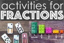 Fractions Activities for Kids / Fractions resources & teaching ideas.