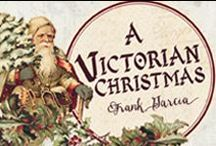 A Victorian Christmas /  A Victorian Christmas collection is just THIS beautiful! With glimmers of gold foil adding divine sparkles, paired with deep reds, golden yellows, and olive green...it's a beauty to behold!