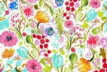 KAREN FIELDS DESIGNS / My surface pattern designs.