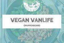 ❉ VEGAN VANLIFE ❉ / Vegane Rezepte für unterwegs. Einfach und schnell in der Zubereitung, und lecker natürlich!  Unterwegs im Camper Van ist nicht viel Platz für eine große Küche, deshalb sammeln wir hier einfachen Rezept-Ideen, die lecker sind. Alles vegan natürlich!