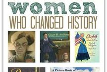 Women's History Month / Resources and websites for Women's History Month