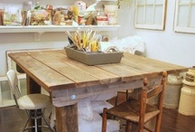 CrAfT and WoRk TaBlEs / Great places/ to make all those crafts / by Dimitra Becker