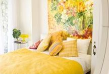 Bedrooms / Sleepytime.  Bedrooms that are beautiful, playful, colorful.