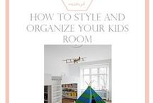 Kid's Room / Pretty ideas for kids rooms, playrooms and nurseries.