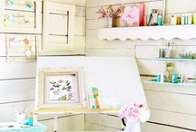 Craft Room Ideas / by Jeanene Gioscia-Heuseveldt