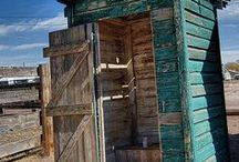 OUTHOUSES / by Janet Alman