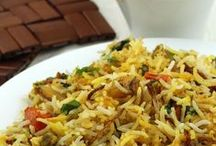 Rice and Pulao Recipes for Lunch and Dinner / Quick and Easy Indian Style Pulao and Rice Recipes with Step by Step Photos - Perfect Option to Serve with Dal, Curd Raita or Curry in Lunch or Dinner