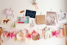 Garlands, Hanging Signs, Mobiles, Pom Poms, Dreamcatchers and Banners / by Jeanene Gioscia-Heuseveldt