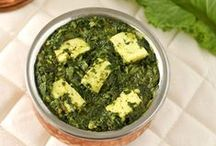 Spinach Special (Palak) / Healthy Spinach Special Indian Style Food