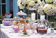 Brunch Ideas / Who doesn't love brunch! It doesn't always have to be for Mother's Day, for more on living outdoors go to http://www.gardendesign.com/issue/outdoor-entertaining/living-outdoors  / by Garden Design
