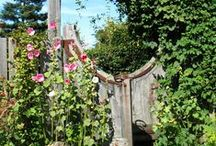 Garden Gates / We don't always know where they lead, but Garden Gates add charm and security to any space.  / by Garden Design