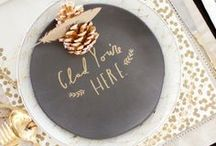 {For the Home} Tablescapes