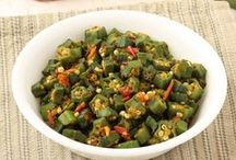 Bhindi Curry Recipes (Okra Special) / Various type of Indian style bhindi sabzi and curry for lunch and dinner with step by step photo.