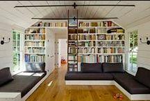 Home decor: Bookshelves