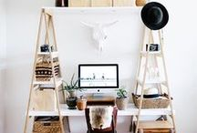 Home office / Beautiful and practical home office solutions and inspiration.