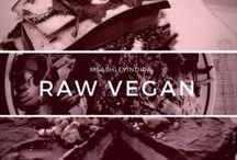 / raw vegan / / by Ashley Indira