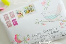 Snail Mail Creations, Pockets and Envelope Art / by Jeanene Gioscia-Heuseveldt
