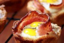 Food: Breakfast / Foods generally eaten in the AM.