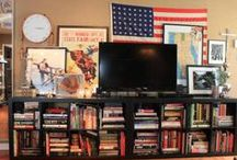 TV Decorating / What to do with a television