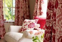 Textiles / Curtains. Linens. Fabrics. Pillows.