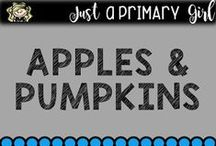 Classroom Apples / Apples and Pumkins