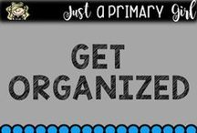 get organized / Getting your life organized in general!