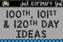 classroom 100th day / 100th, 101st, and 120th Day